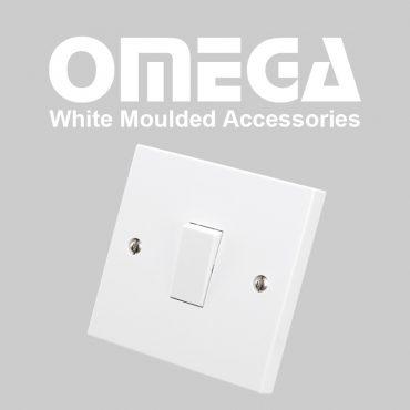 Omega White Moulded